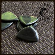 Gypsy Tones - Black Horn - 4 Guitar Picks | Timber Tones